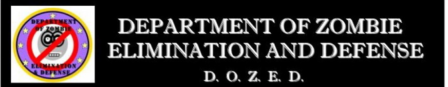 DEPARTMENT OF ZOMBIE ELIMINATION AND DEFENSE
